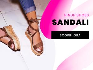 pin up roma sandali